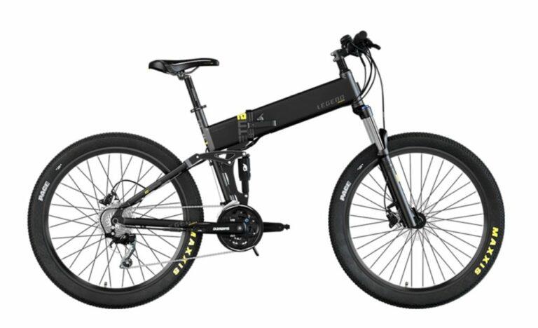 Les vélos électriques pliants Legend eBikes