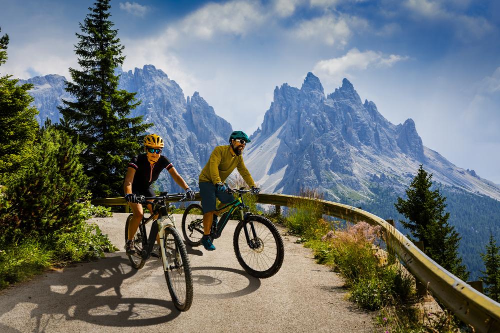 Vélo électrique la montagne et la santé